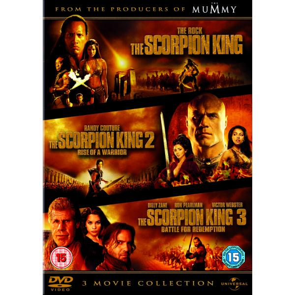 The Scorpion King / The Scorpion King 2 - Rise Of The Warrior / The Scorpion King 3 - Battle For Redemption DVD