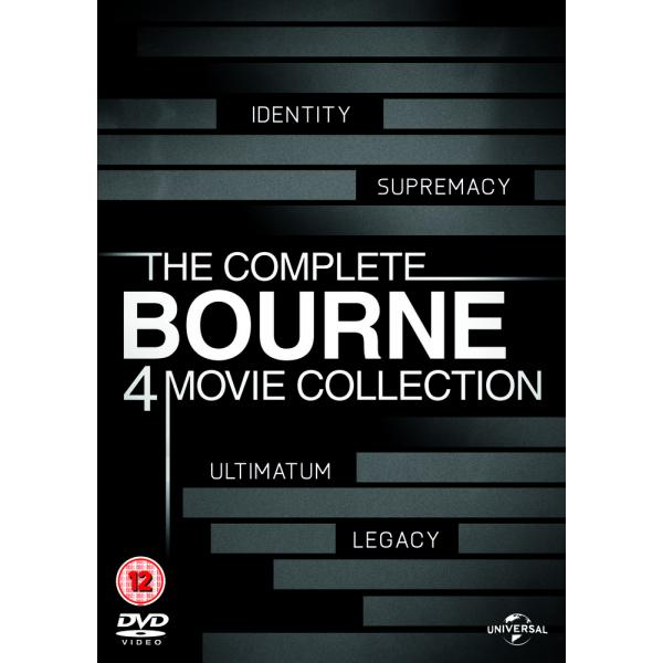 Bourne (4 Films) Movie Collection DVD