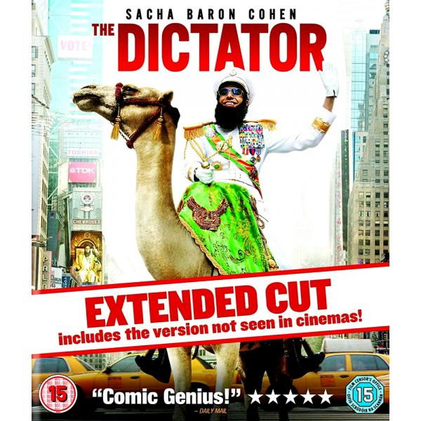The Dictator - Extended Cut Blu-Ray