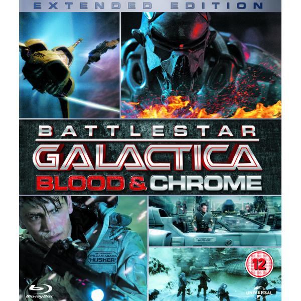 Battlestar Galactica - Blood And Chrome - Complete Mini Series Blu-Ray