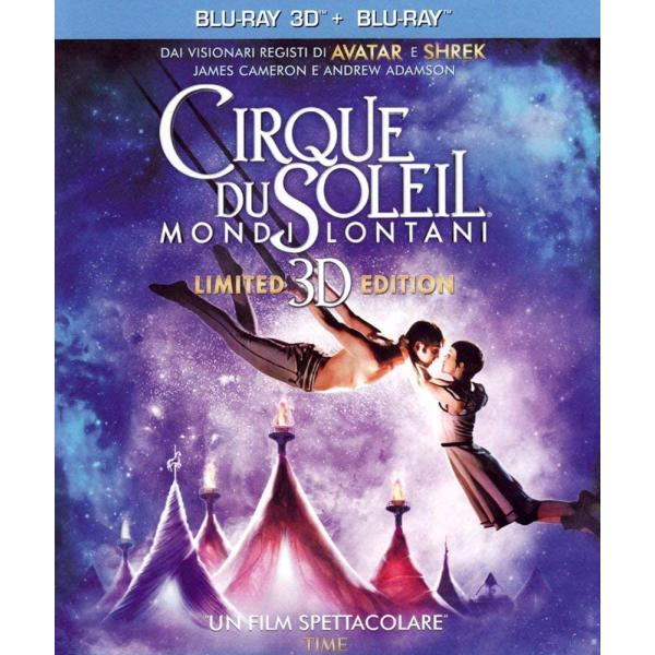 Cirque Du Soleil - Worlds Away 3D+2D Blu-Ray