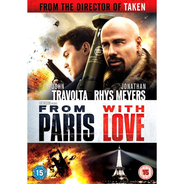 From Paris With Love DVD