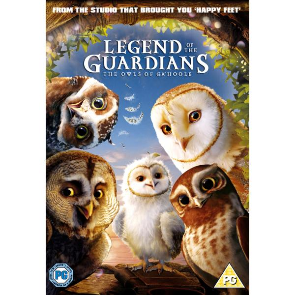 Legend Of The Guardians - The Owls Of Ga'Hoole DVD