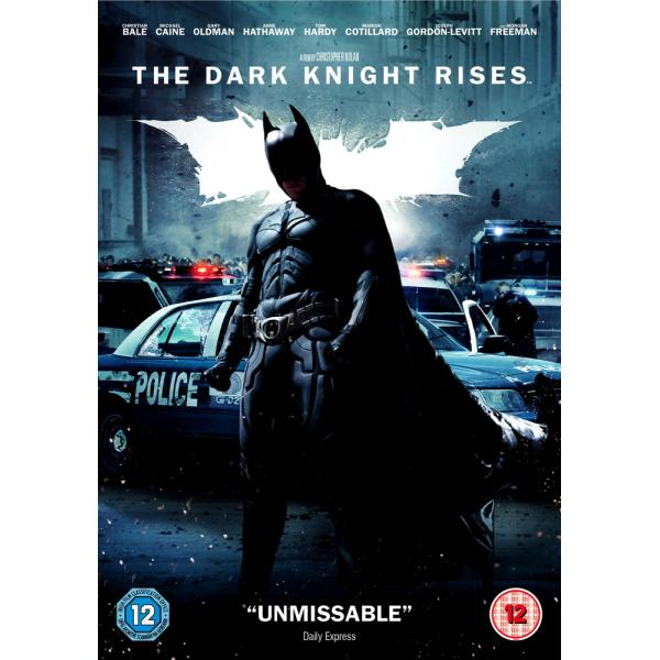 Batman - The Dark Knight Rises DVD