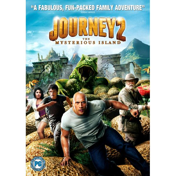Journey 2 - The Mysterious Island DVD